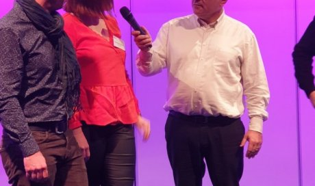 Le Patron de l'agence STEPHANE PLAZA IMMOBILIER DOLE sur le podium !